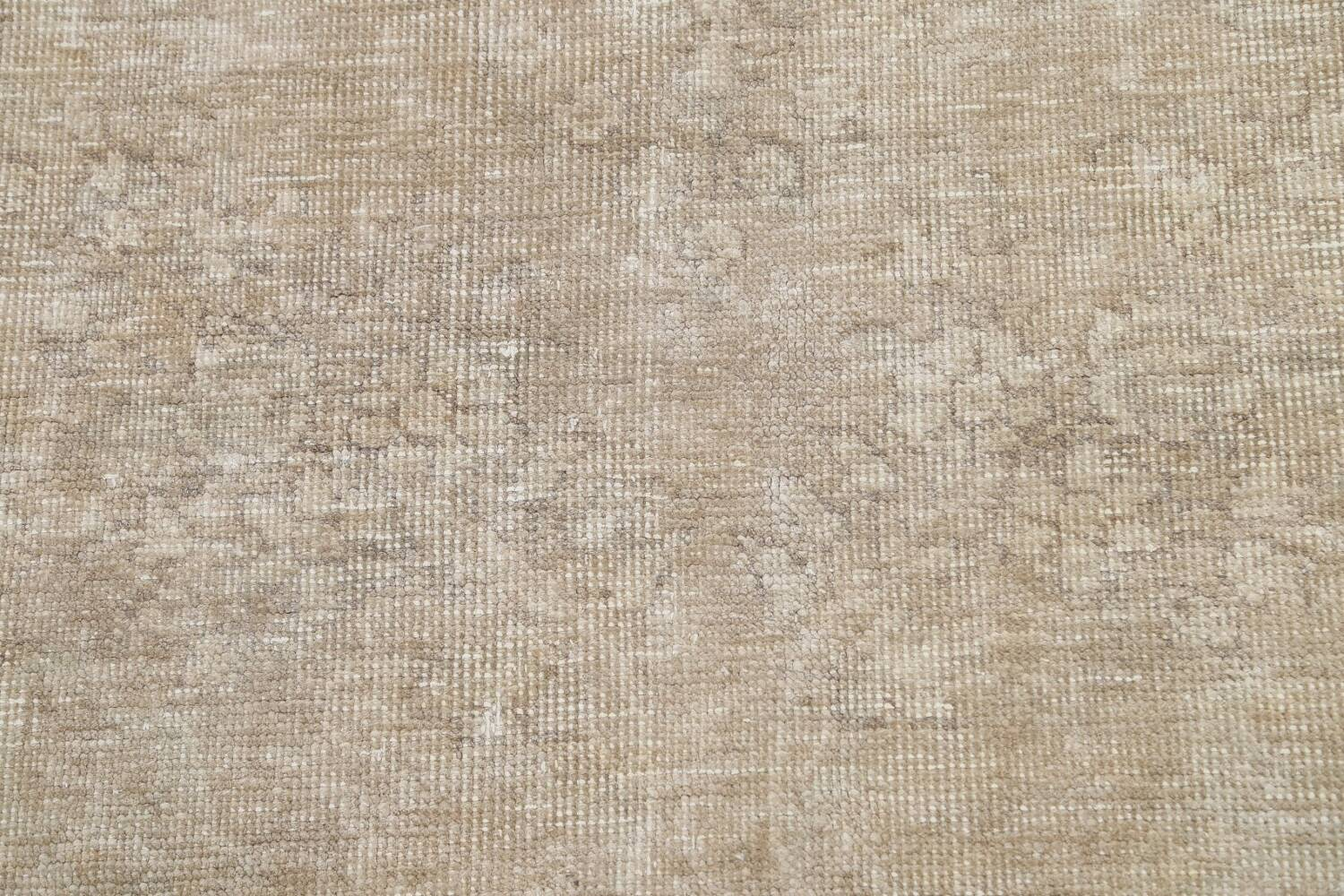 Muted Distressed Tabriz Persian Area Rug 9x12 image 10
