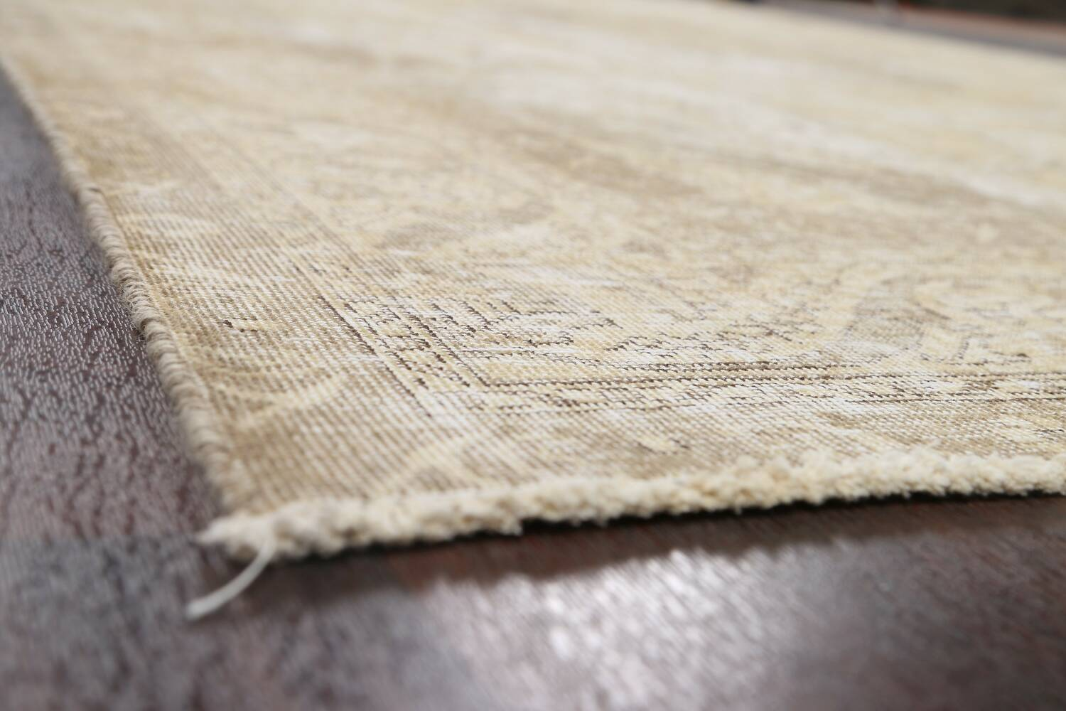 Muted Distressed Tabriz Persian Area Rug 8x12 image 6