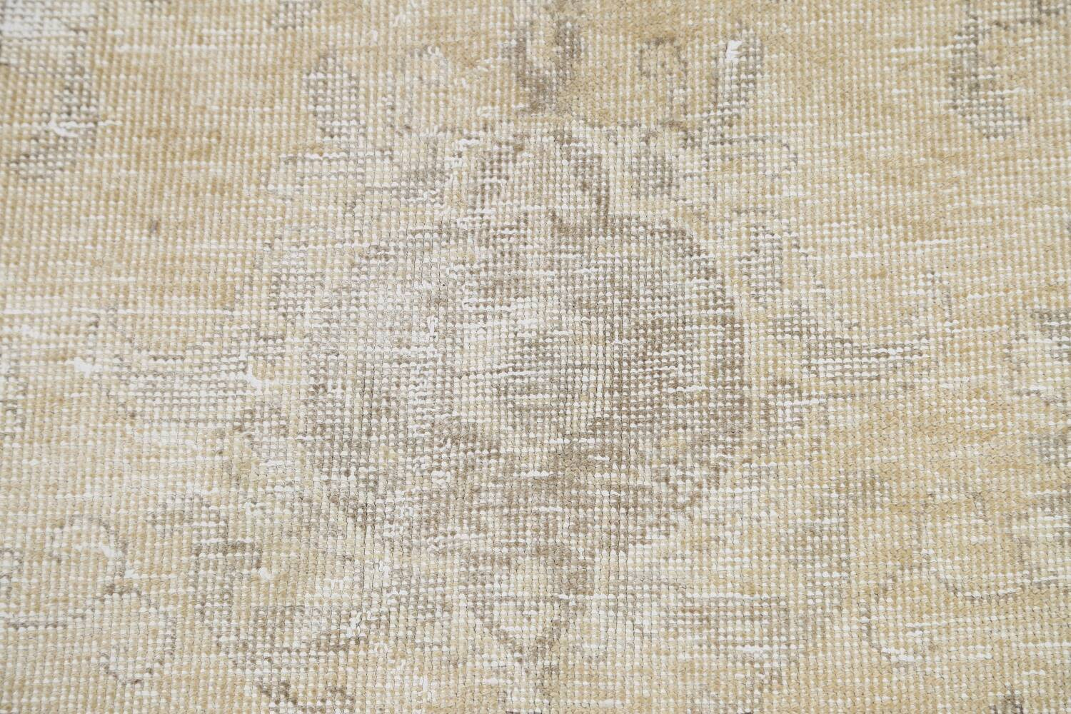 Muted Distressed Tabriz Persian Area Rug 8x12 image 11