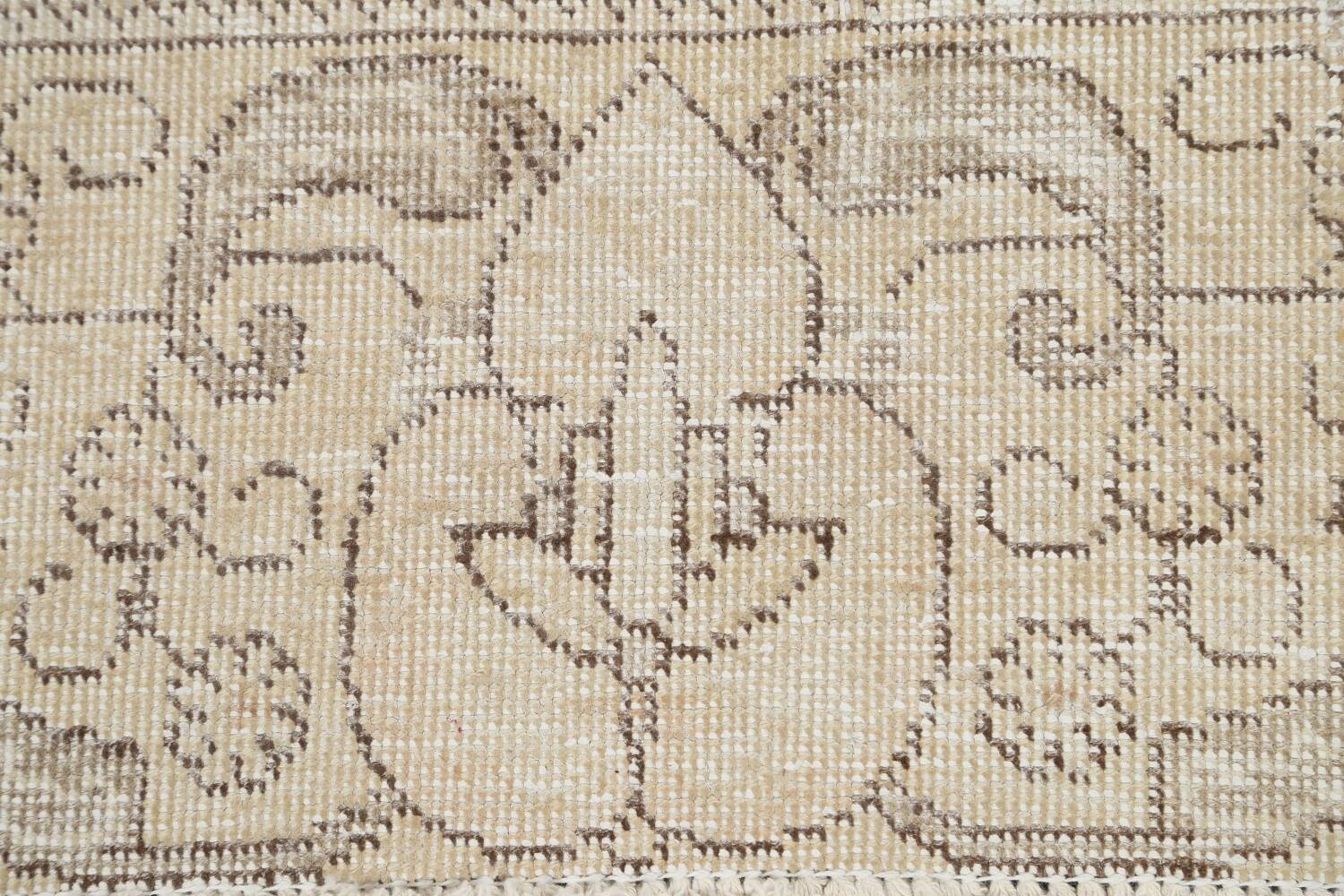 Muted Distressed Tabriz Persian Area Rug 9x12 image 9