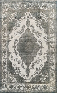 Over-dyed Tabriz Persian Area Rug 10x13