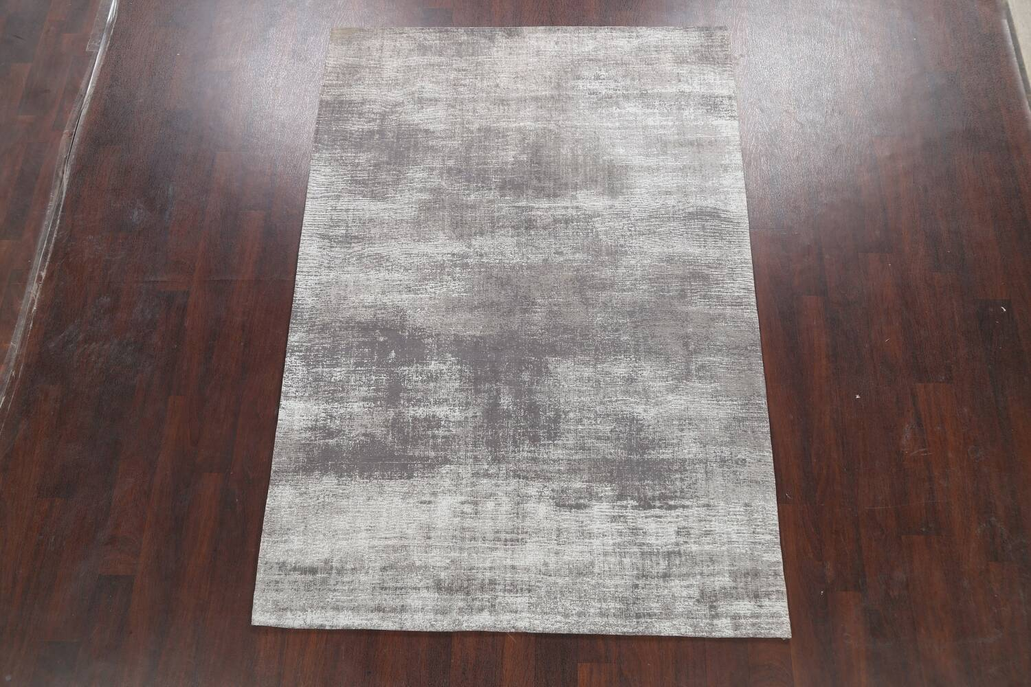 Abstract Modern Oriental Area Rug 5x8 image 2