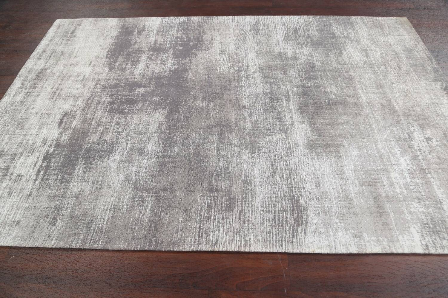 Abstract Modern Oriental Area Rug 5x8 image 7