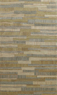 Abstract Modern Oriental Area Rug 5x7