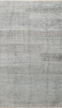 Distressed Modern Oriental Area Rug 5x8