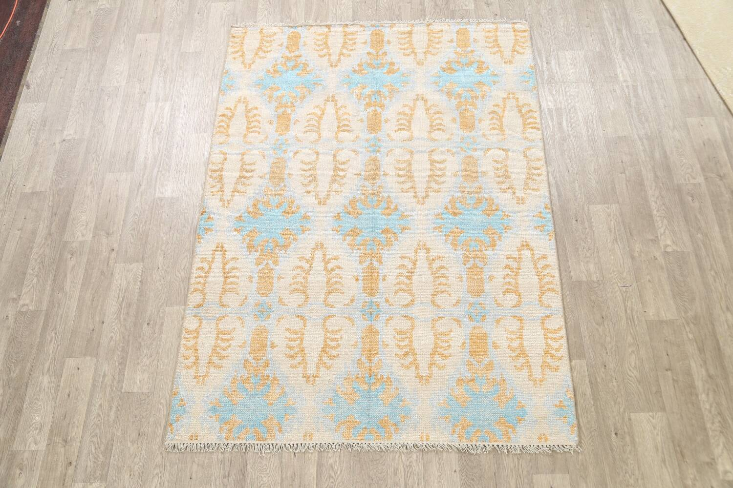 All-Over Modern Oriental Area Rug 6x8 image 2