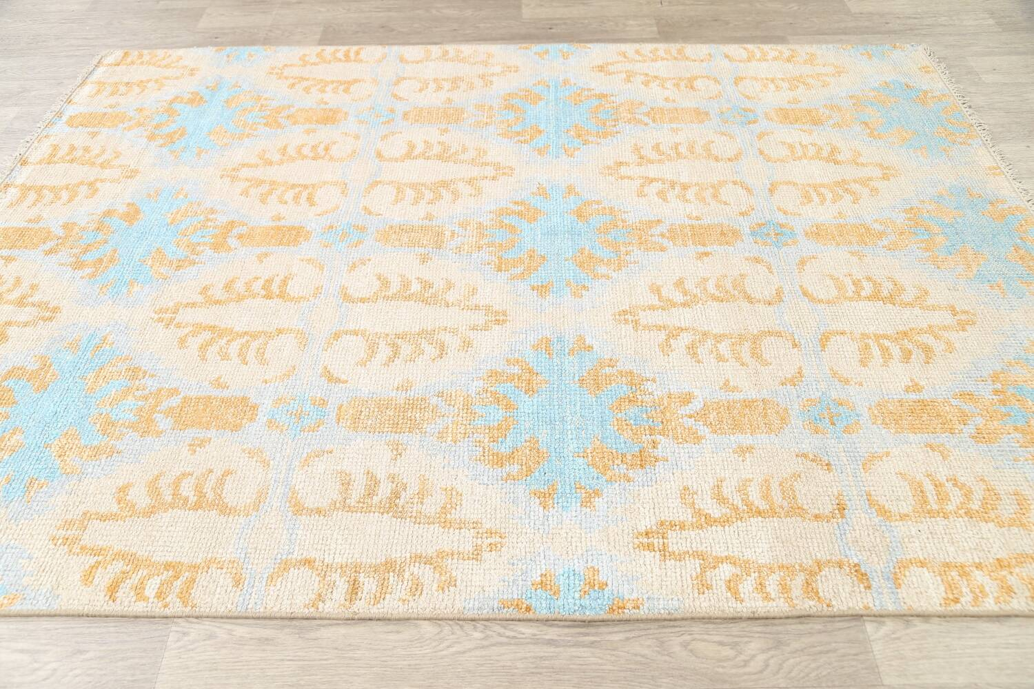 All-Over Modern Oriental Area Rug 6x8 image 7