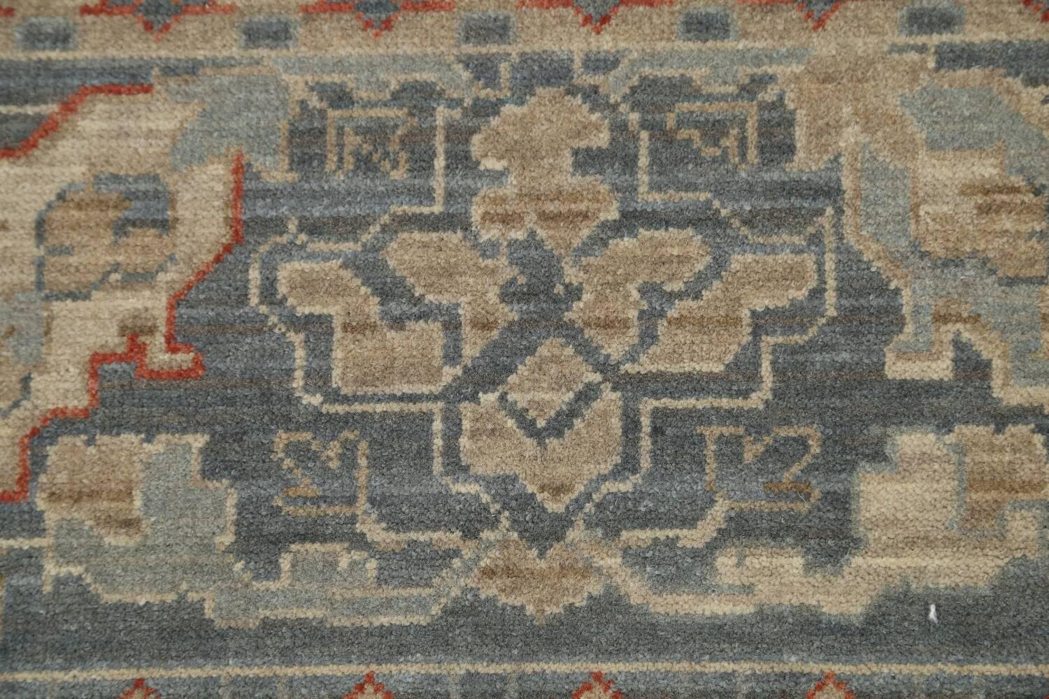 Silver Washed Ziegler Turkish Area Rug 9x12 image 9