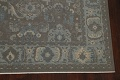 Silver Washed Ziegler Turkish Area Rug 9x12 image 5