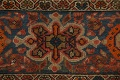 Pre-1900 Antique Vegetable Dye Malayer Persian Area Rug 4x6 image 9