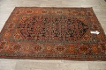 Pre-1900 Antique Vegetable Dye Malayer Persian Area Rug 4x6 image 11