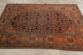 Pre-1900 Antique Vegetable Dye Malayer Persian Area Rug 4x6 image 14