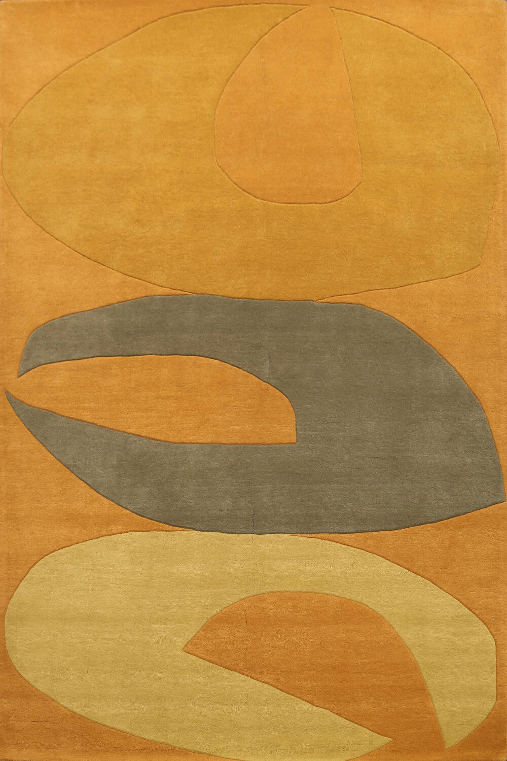Abstract Modern Oriental Area Rug 8x10 image 1