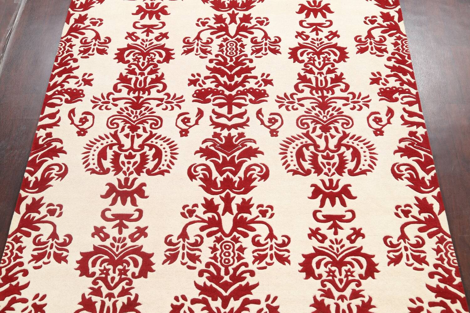 Transitional Floral Oriental Area Rug 8x10 image 3