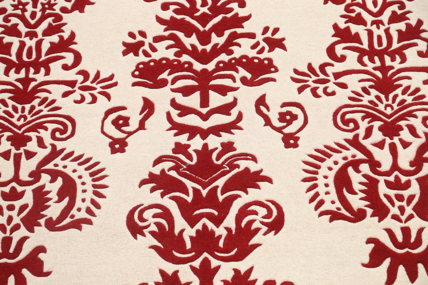 Transitional Floral Oriental Area Rug 8x10 image 4