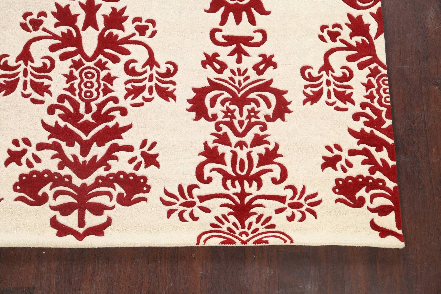 Transitional Floral Oriental Area Rug 8x10 image 5