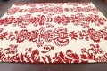 Transitional Floral Oriental Area Rug 8x10 image 8
