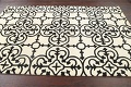 All-Over Modern Oriental Area Rug 5x8 image 8