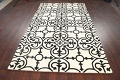 All-Over Modern Oriental Area Rug 5x8 image 9