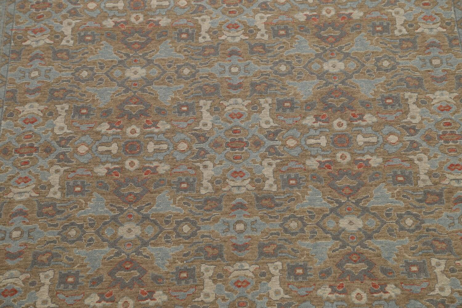 Silver Washed Ziegler Turkish Area Rug 9x12 image 4