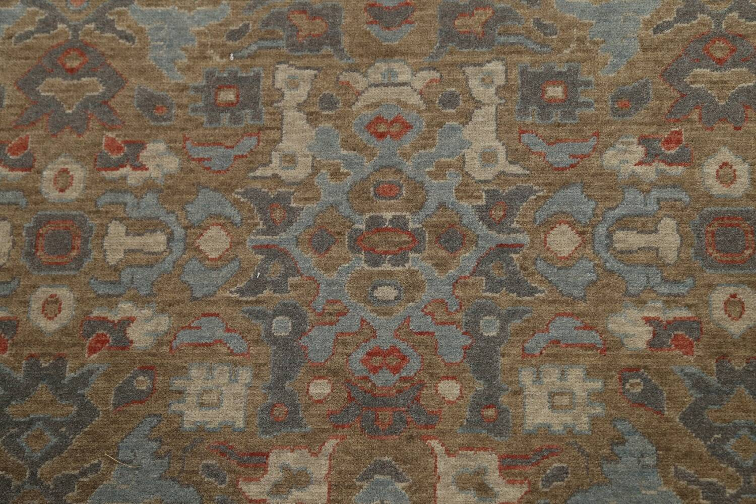 Silver Washed Ziegler Turkish Area Rug 9x12 image 10
