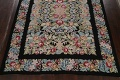 All-Over Floral Needlepoint Oriental Area Rug 10x14 image 8