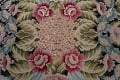 All-Over Floral Needlepoint Oriental Area Rug 10x14 image 10