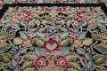 All-Over Floral Needlepoint Oriental Area Rug 10x14 image 11