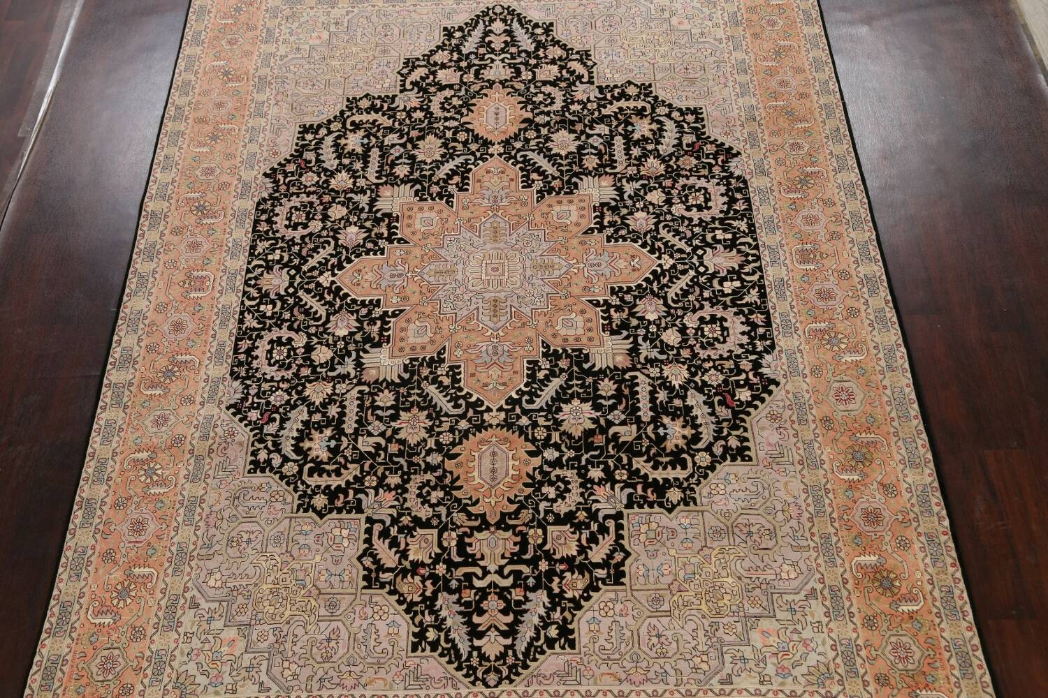 100% Vegetable Dye Tabriz Signed Persian Area Rug 8x12 image 3