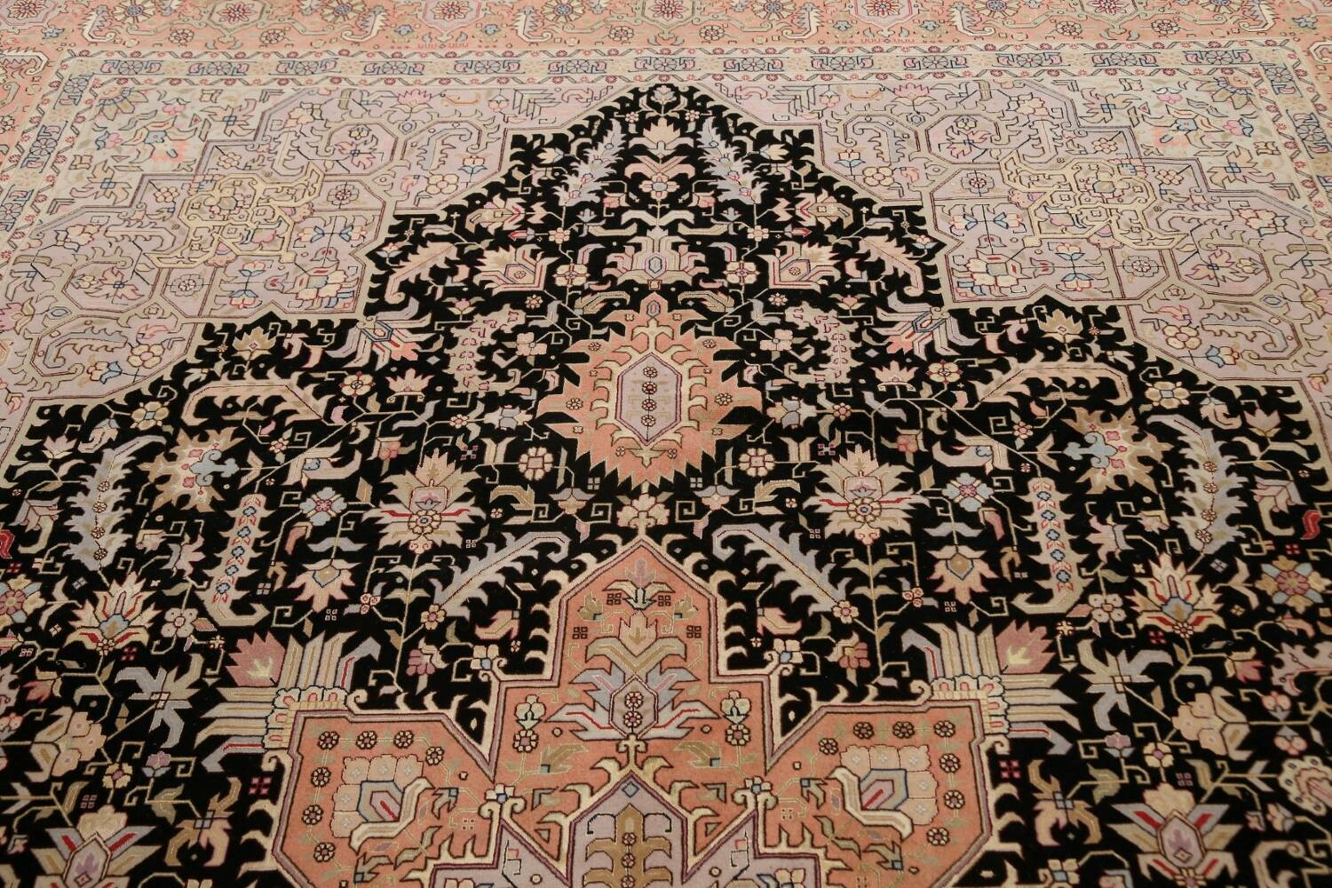 100% Vegetable Dye Tabriz Signed Persian Area Rug 8x12 image 13