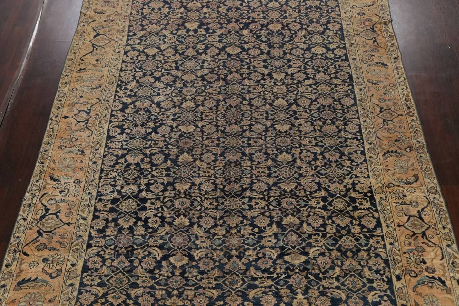 Pre-1900 Antique Vegetable Dye Malayer Persian Area Rug 9x12 image 3