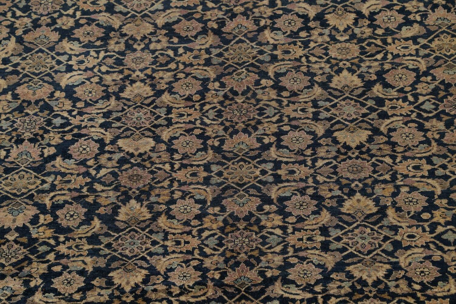 Pre-1900 Antique Vegetable Dye Malayer Persian Area Rug 9x12 image 4