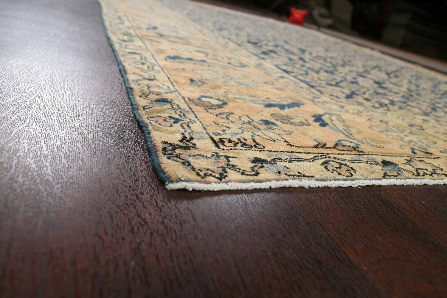 Pre-1900 Antique Vegetable Dye Malayer Persian Area Rug 9x12 image 6