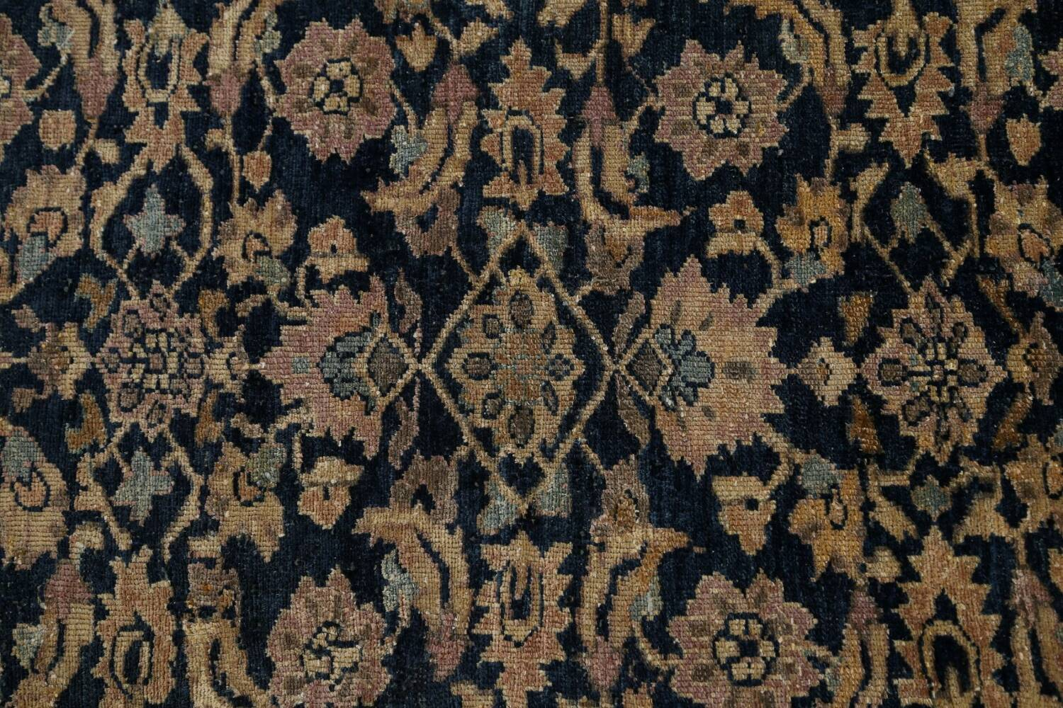 Pre-1900 Antique Vegetable Dye Malayer Persian Area Rug 9x12 image 10