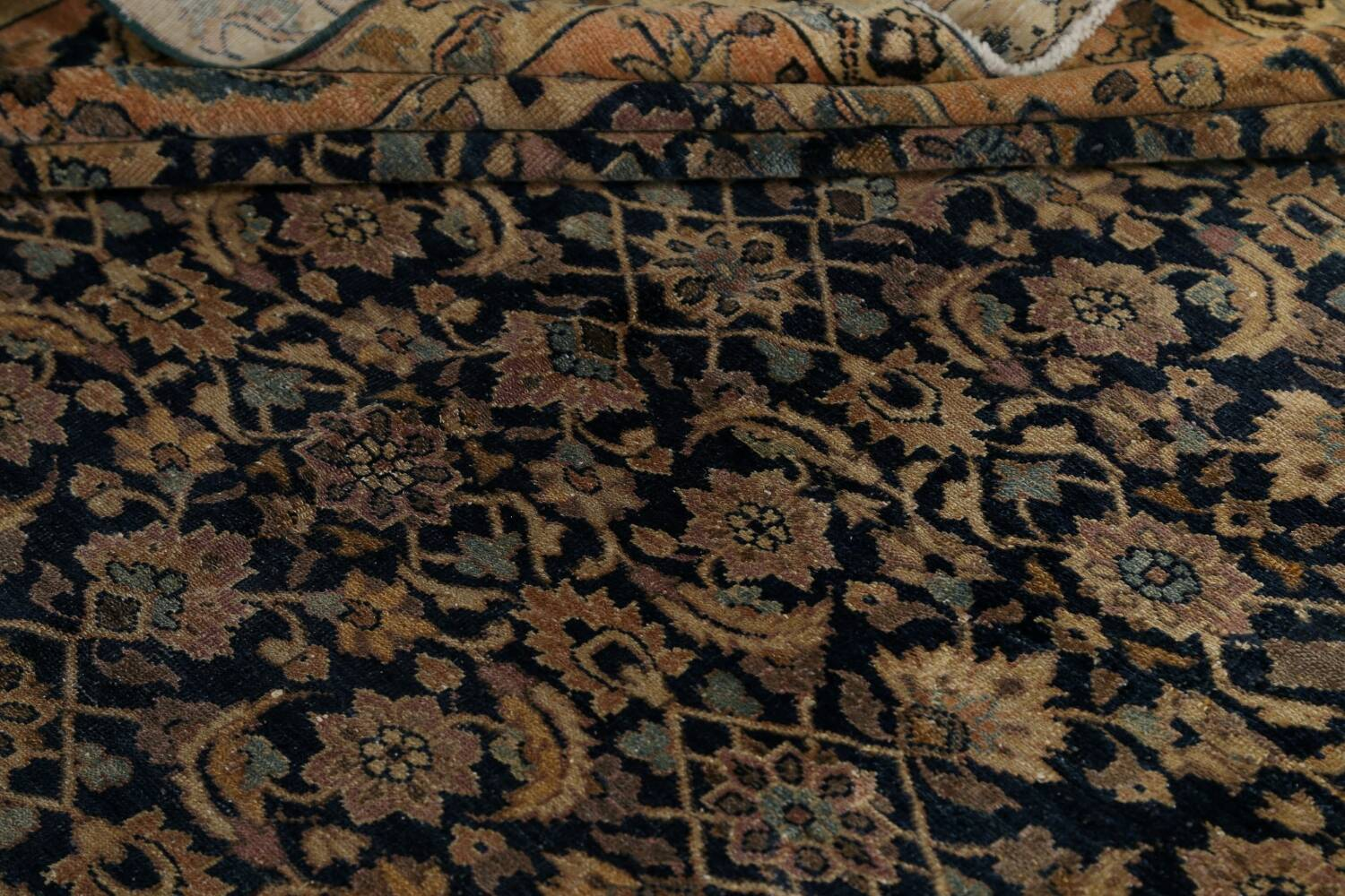 Pre-1900 Antique Vegetable Dye Malayer Persian Area Rug 9x12 image 15