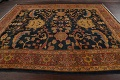 Pre-1900 Antique Vegetable Dye Sultanabad Persian Area Rug 9x10 image 14