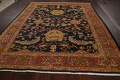 Pre-1900 Antique Vegetable Dye Sultanabad Persian Area Rug 9x10 image 15