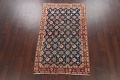Antique Vegetable Dye Isfahan Persian Area Rug 3x5 image 2
