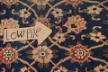 Antique Vegetable Dye Isfahan Persian Area Rug 3x5 image 10