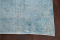 Distressed Over-dye Antique Kerman Persian Area Rug 7x9 image 5