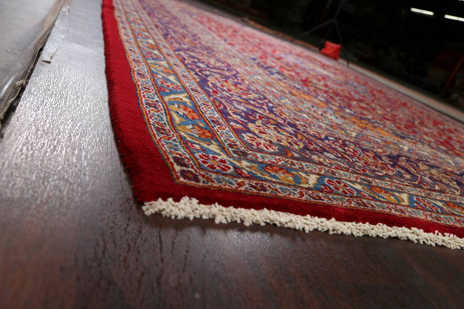Traditional Floral Mashad Persian Area Rug 10x13 image 6