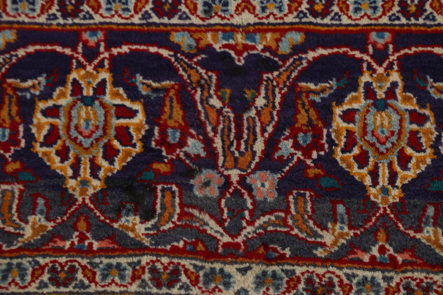 Traditional Floral Mashad Persian Area Rug 10x13 image 9