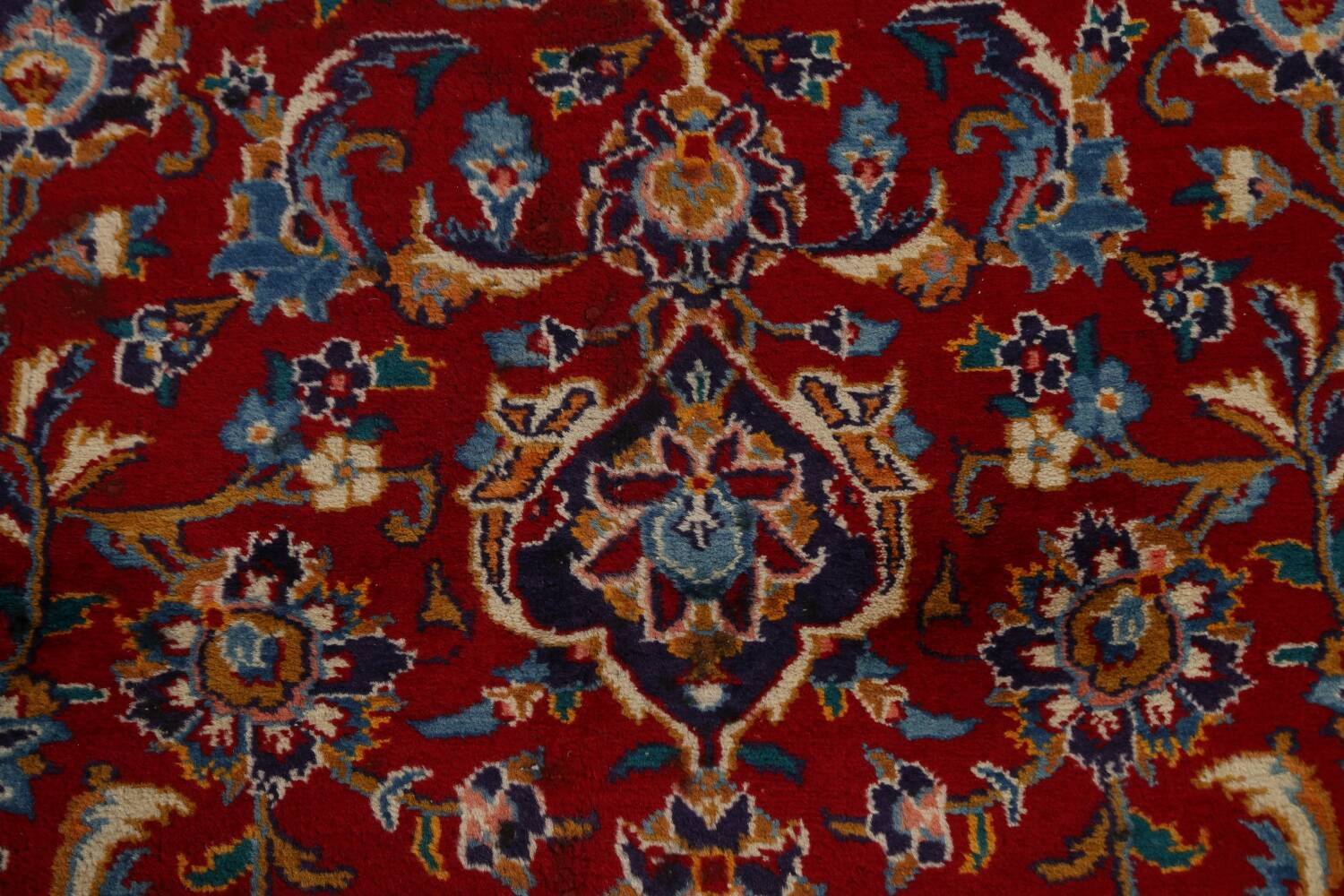 Traditional Floral Mashad Persian Area Rug 10x13 image 10