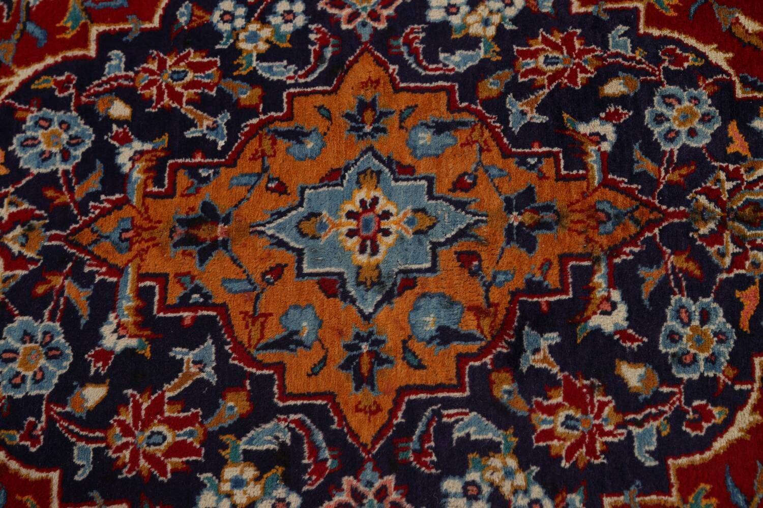 Traditional Floral Mashad Persian Area Rug 10x13 image 11