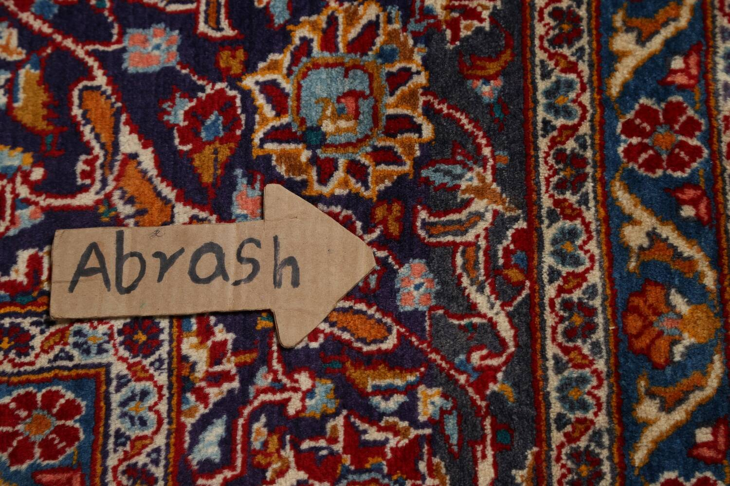 Traditional Floral Mashad Persian Area Rug 10x13 image 13