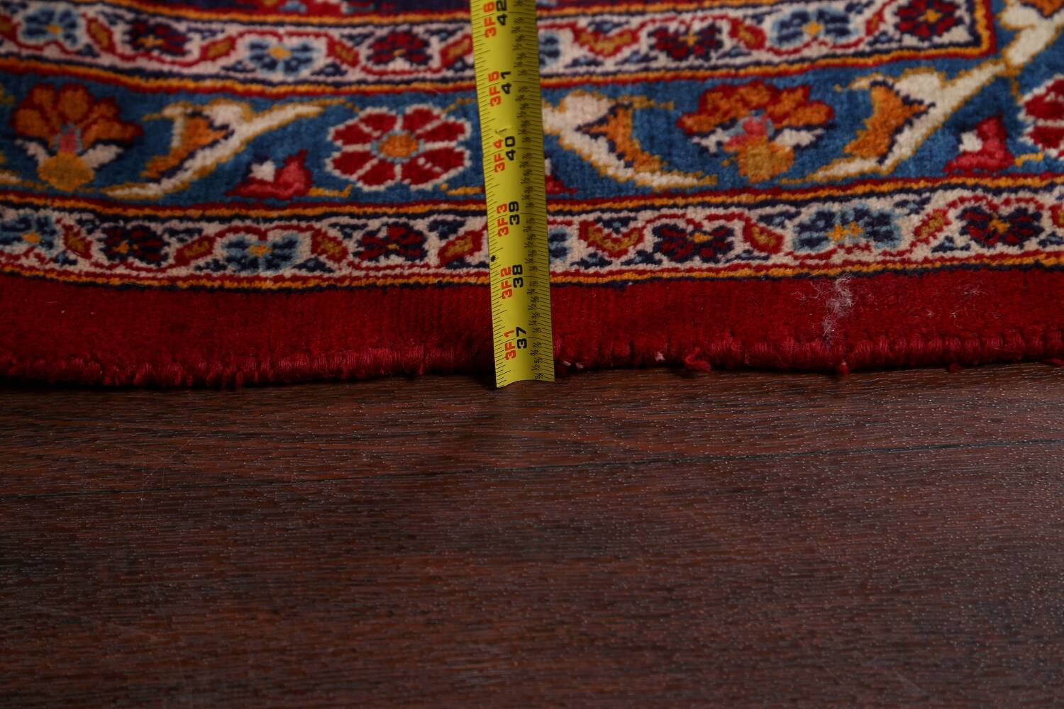 Traditional Floral Mashad Persian Area Rug 10x13 image 21