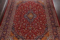 Traditional Floral Mashad Persian Area Rug 10x13 image 3
