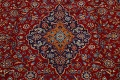 Traditional Floral Mashad Persian Area Rug 10x13 image 4