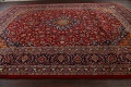 Traditional Floral Mashad Persian Area Rug 10x13 image 14