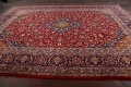 Traditional Floral Mashad Persian Area Rug 10x13 image 16